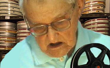 Pioneiro do cinema Severino Alexandre Santos.